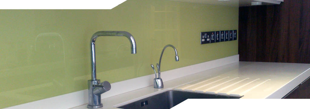 light green shade panel with multiple socket cutouts
