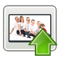 personalised image upload icon