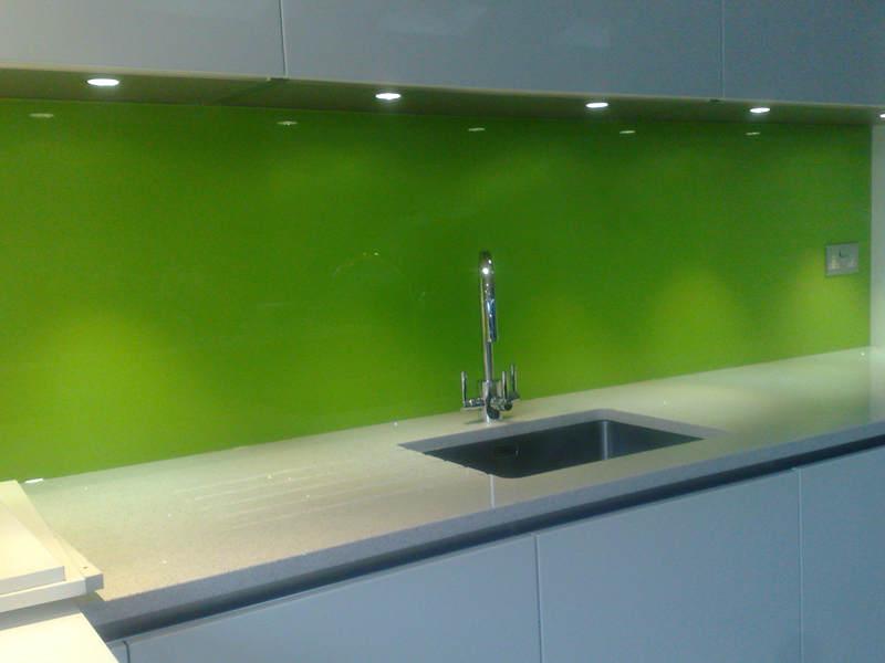 Coloured Glass Splashbacks Essex